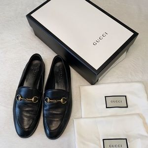 AUTHENTIC Gucci Black Brixton women's Loafers